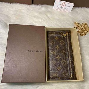 Authentic Preloved Origami Wallet with box